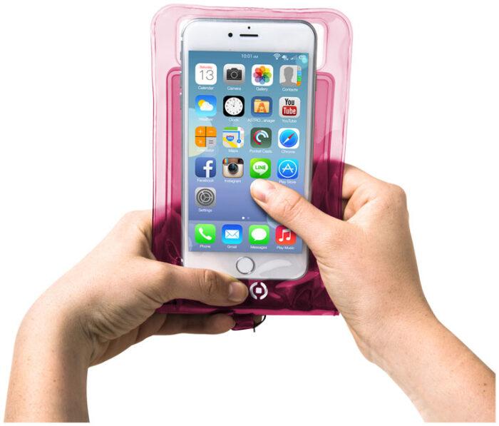 veekindel kott telefonidele